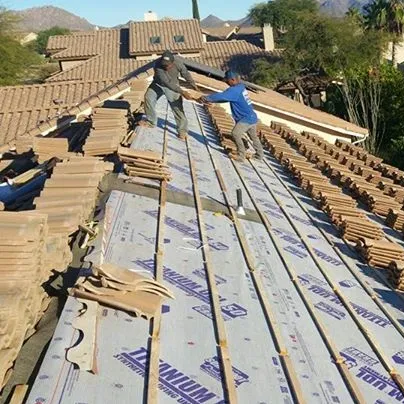 Tile roofing repair and installation